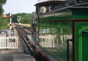 2009 Bluebell Railway - Sheffield Park - SECR C class - 592 (6)