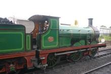 2009 Bluebell Railway - Sheffield Park - SECR C class - 592