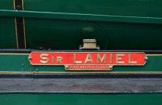 2013 Great Spring Steam Gala - Watercress Line - Ropley - N15 King Arthur class - 777 - Sir Lamiel name plate