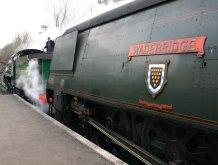 2013 Great Spring Steam Gala - Watercress Line - Alresford - N15 777 Sir Lamiel & Unrebuilt West Country 34007 Wadebridge