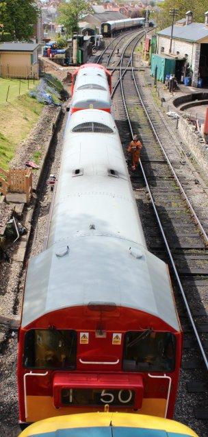 2013 - Swanage Railway - Swanage - class 20 - 20189 & 20227 London Underground