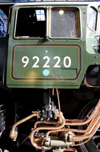 2013 National Railway Museum York - The Great Gathering - BR Standard 9F 92220 Evening Star number cab