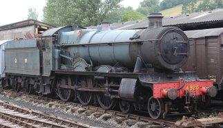2013 South Devon Railway - Buckfastleigh - GWR 49xx Hall Class - 4920 Dumbleton Hall