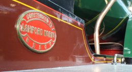 2013 National Railway Museum York - The Great Gathering - SECR D Class 4-4-0 737 works plate