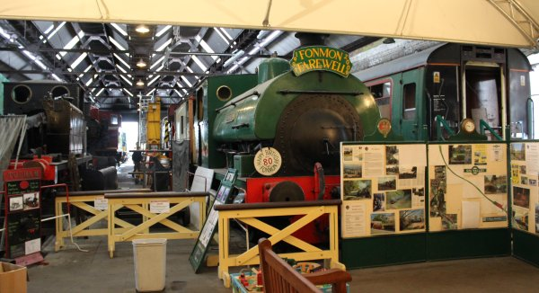 Spa Valley Railway Loco Yard