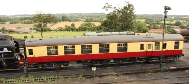 2013 Watercress Line - Ropley - Mk1 carriage Tornado support coach E21249
