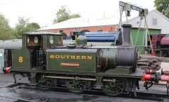 2013 - Isle of Wight Steam Railway - Havenstreet - Ex-LBSCR A1X Terrier W8 Freshwater