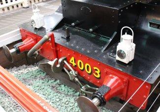 2013 - STEAM Museum of the GWR - Swindon - 4000 class 4003 Lode Star buffer beam