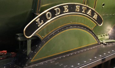 2013 - STEAM Museum of the GWR - Swindon - 4000 class 4003 Lode Star name plate