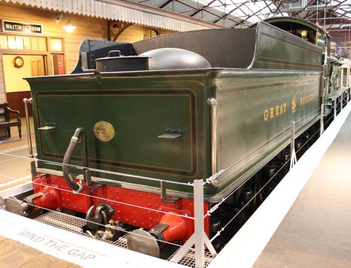 2013 - STEAM Museum of the GWR - Swindon - 4000 class 4003 Lode Star tender