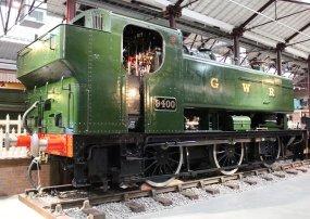 2013 - STEAM Museum of the GWR - Swindon - GWR 94xx pannier tank Class - 9400
