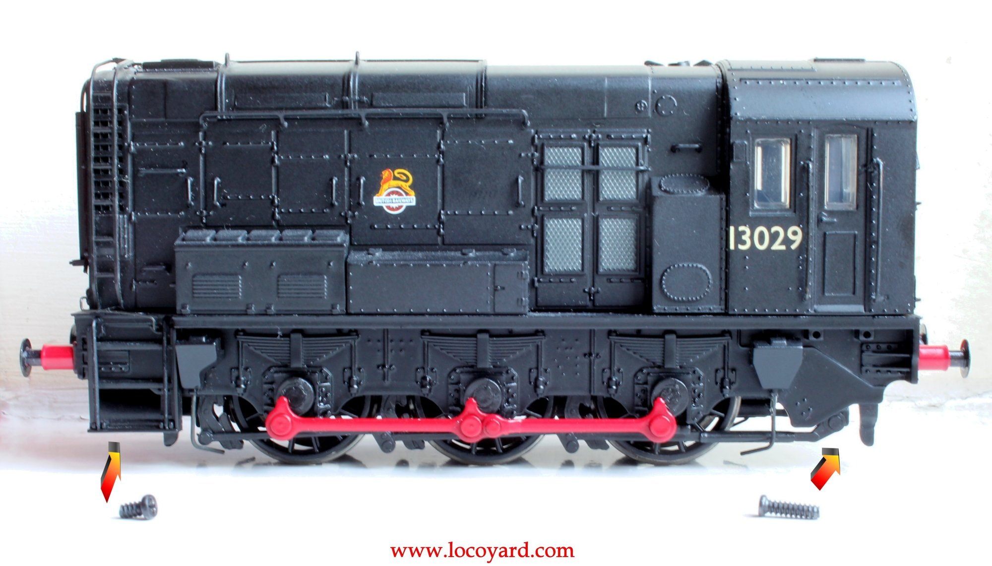 hight resolution of locoyard bachmann br class 08 diesel shunter 13029 hard wiring dcc fitting guide