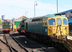2014 - Swanage Railway - Swanage - Class 33 - 33111