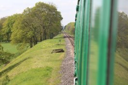 2014 - Watercress Railway - Ropley-Medstead - Class 205 DEMU Hampshire Unit Thumper 1125 Not the Last Thump