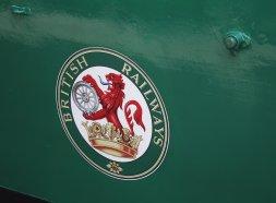 2014 - Watercress Railway - Alton - Class 205 DEMU Hampshire Unit Thumper 1125 Not the Last Thump BR Emblem