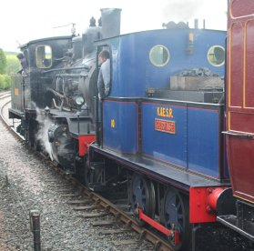 2014 Kent and East Sussex Railway 40th Anniversary Gala Rolvenden class 21C 376 Norwegian Sentinal 0-4-0 10 Gervase