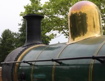 2014 Bluebell Railway - East Grinstead - SECR C class 592 dome and chimney