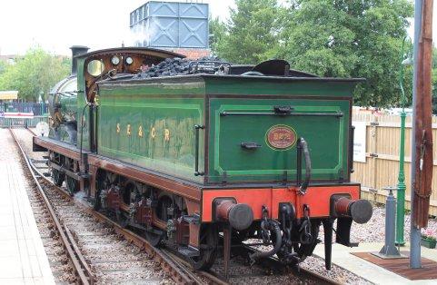 2014 Bluebell Railway - East Grinstead - SECR C class 592