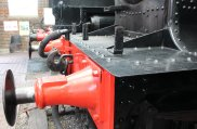 2014 Bluebell Railway - Sheffield Park - Great Western Railway 3200 Dukedog class 4-4-0 9017 Earl of Berkeley buffer