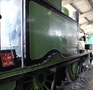 2014 Bluebell Railway - Sheffield Park - London & South Western Railway Adams Radial Tank 488