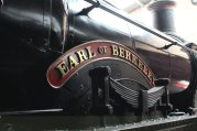 2014 Bluebell Railway - Sheffield Park - Great Western Railway 3200 Dukedog class 4-4-0 9017 Earl of Berkeley