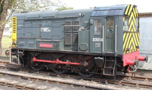 2014 Paignton and Dartmouth Steam Railway - Paignton - Class 08 Disel Shunter D3014