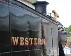 2014 Paignton and Dartmouth Steam Railway - View from Pullman Devon Belle Observation Car 52xx 5239 Goliath