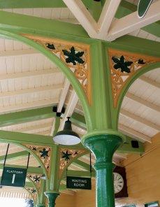 2014 Autumn Steam Gala Watercress Line - Ropley - Platform 1 Waiting Room