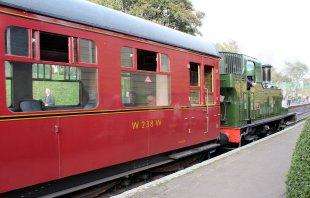 2014 Autumn Steam Gala Watercress Line - Ropley - Ex-GWR 14xx Class 1450 and Autocoach W238W