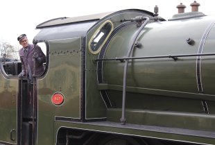2015 - Bluebell Railway - Sheffield Park - Southern Railway Maunsell S15 class 847 cab