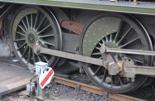 2015 - Bluebell Railway - Sheffield Park - Southern Railway Maunsell S15 class 847 wheels