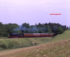 Severn Valley Railway WD class 2-8-0 (LMR) 600 Gordon at milepost 148 - 24th June 1995 by Basil Roberts
