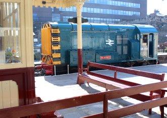 2015 - East Lancashire Railway Bury Bolton Street - British Railways Class 08 08164 Prudence BR blue