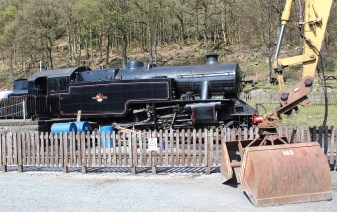 2015 - Lakeside and Haverthwaite Railway - British Railways Fairburn 4MT 2-6-4T 42073