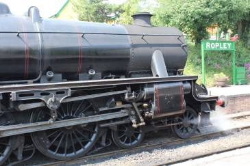 Watercress Line Ropley ex-LMS Black 5 45379 8th July 2015