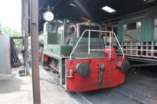 South Devon Railway Buckfastleigh July 2015 - Yorkshire Engine Co 0-4-0DE No L052 Yorkie (works No 2745)