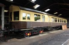 South Devon Railway Buckfastleigh July 2015 - GWR autocoach