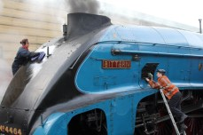 Watercress Line Autumn Steam Gala 24 October 2015 -LNER A4 class 4464 Bittern
