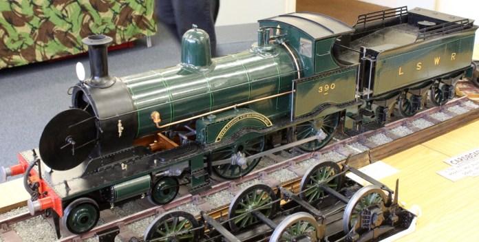 EG Best cardboard models (5) LSWR 380 class no 390A