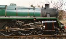 Watercress Line Mid Hants Railway 1990s (2) Ropley BR Standard 5MT 73096