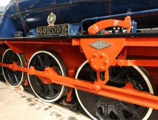 Severn Valley Railway Highley Engine House July 2016 - WD 2-10-0 no 600 Gordon Longmoor Military Railway LMR (3)