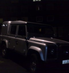 land rover defender 110 silver doublecab [ 2048 x 1536 Pixel ]