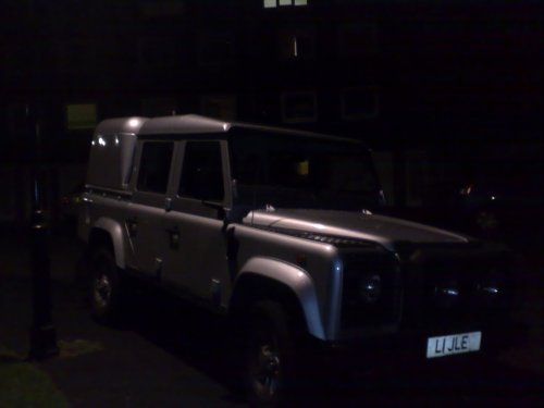 small resolution of land rover defender 110 silver doublecab