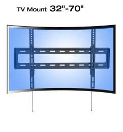 tv mounts for flat screens bell o triple play flat tv in wall wiring wood wall mount tv [ 1100 x 1100 Pixel ]