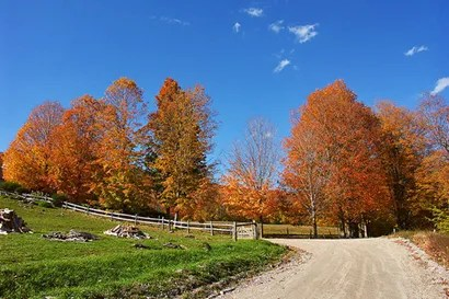 Vermont un encantador paisaje rural en Estados Unidos