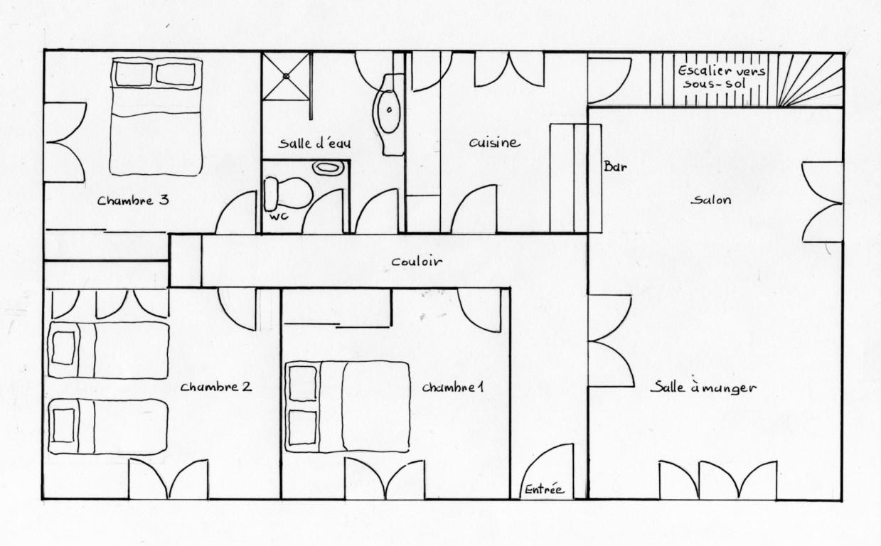 Plan dune maison africaine