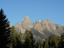 The Grand Teton is all its glory