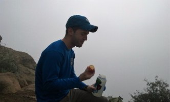 The summit snack--best part of a hike!
