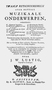 Lustig Redeneeringen 1756