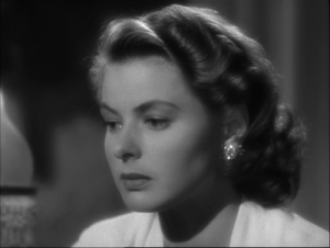 DTPOT: Ilsa-Ingrid Bergman listening to Sam playing it again.